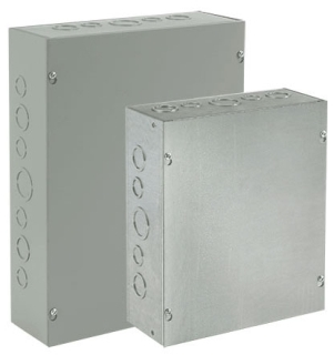 HOFFMAN ASG18X12X8NK PULL BOX, SCREW COVER , BULLETIN A90P1 (PULL BOXES TYPE1), SIZE/DIMS: 18.00X12.00X8.00, MATERIAL/FINISH: GALVANIZED SCREW COVER , BULLETIN A90P1 (PULL BOXES TYPE1), SIZE/DIMS: 18.00X12.00X8.00, MATERIAL/FINISH: GALVANIZED