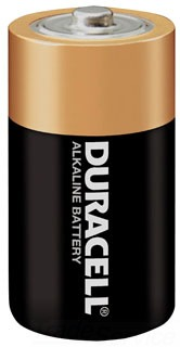 SELMN1300 DURACELL ALKALINE; DESIGNATED SIZE D; 1.5 V; AMPERE HOUR 15 AH; FLAT TERMINAL; HEIGHT 2.421 INCH; DIAMETER 1.346 INCH; APPLICATION FLASH LIGHT, RADIO, RECORDER, TOY