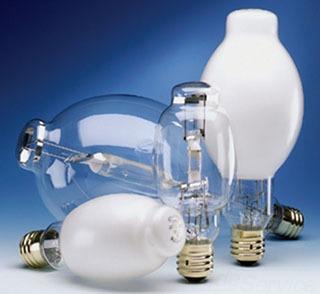 SM175/U 64471 175W METALARC QUARTZ METAL HALIDE LAMP, E39 BASE, BT28 BULB, ENCLOSED, SYLVANIA