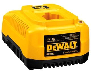 DWTDC9310 00781 HEAVY DUTY 7.2V - 18V NICD/NIMH/LI-ION 1 HOUR CHARGER