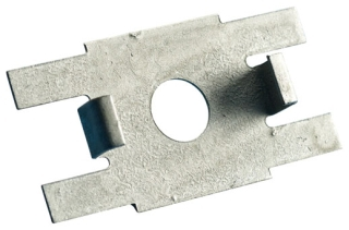 CADDY 4TGS TWIST CLIP FOR RECESSED T-GRID, 1/4