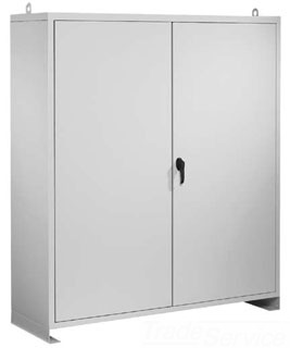 HOFFMAN A60N5218FSLP LARGE TYPE 1 ENCLOSURE, BULLETIN A38 (LARGE TYPE 1 AND 2 INDUSTRIAL ENCLOSURES), SIZE/DIMS: 60.00X52.00X18.00, MATERIAL/FINISH: STEEL/GRAY ENCLOSURE, BULLETIN A38 (LARGE TYPE 1 AND 2 INDUSTRIAL ENCLOSURES), SIZE/DIMS: 60.00X52.00X18.00, MATERIAL/FINISH: STEEL/GRAY
