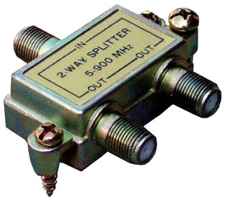 MOR45030 2 WAY SPLITTERS 5-900 MHZ, MORRIS PRODUCTS