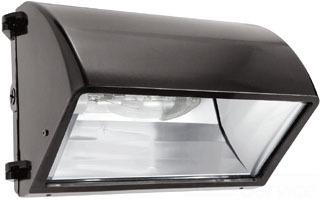 RABWP2CH150QT WALLPACK 150W MH QT HPF CUTOFF + LAMP BRONZE, WP2CH150QT, RAB LIGHTING