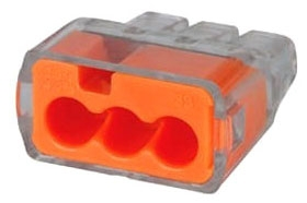 IDL30-1033J PUSH-IN 12AWG 3-PORT, 250 JAR, IDEAL INDUSTRIES