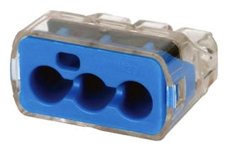 IDL30-1039 PUSH-IN 10AWG 3-PORT, 50 BOX, IDEAL INDUSTRIES