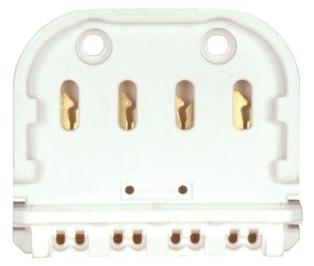 SAT80/1605 2G11 4-PIN LAMPHOLDER, SATCO