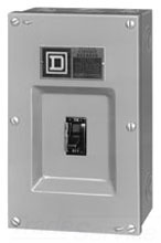 JD250S 59924 ENCLOSURE CIRCUIT BREAKER NEMA 1 (SPCL), SQUARE D