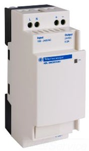 SCHNEIDER ELECTRIC ABL8MEM24003 SCHNEIDER ELECTRIC,PHASEO POWER SUPPLY 24VDC 0.3AMP,#14 TO #26 AWG,0.3A,100 TO 240 VAC,24 VDC,7 W,DIN RAIL / PANEL,PHASEO