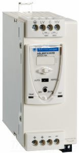 SCHNEIDER-ELECTRIC ABL8RPS24050 UNIVERSAL POWER SUPPLY 100 TO 120 VAC, 200 TO 500 VAC, 24 VDC, 120 W, 5A