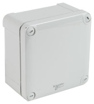SCHNEIDER ELECTRIC NSYTBP16128 SCHNEIDER ELECTRIC,INDUSTRIAL BOXES IBP1612/8,FOR ENHANCED IMPACT RESISTANCE AND OUTDOOR APPLICATIONS OR APPLICATIONS DIRECTLY EXPOSED TO UV,POLYCARBONATE,RAL 7035 GRAY,UL 508A/IEC 62208,INDUSTRIAL BOX,LOW PLAIN COVER