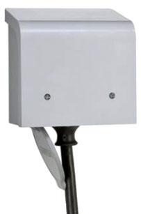 RELPBN50 POWER INLET BOX, 50A, 120/240V, NON-METALLIC, RELIANCE CONTROLS