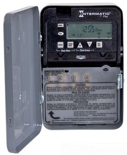 ITMET1705C 10984 7-DAY 30 AMP SPST ELECTRONIC TIMESWITCH - CLOCK VOLTAGE 120-277V NEMA 1