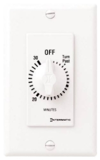 ITMFD30MWC SPRING WOUND TIMER,30 MIN,WH, SPST