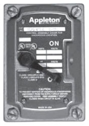 APPLETON EDSF12 CONTENDER COVER 1P & 2P SWITCH