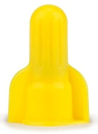 3M 312-POUCH YELLOW SPRING CONNECTOR (100/POUCH)