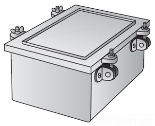 OZ-GEDNEY YW-080804 CAST IRON JUNCTION BOX