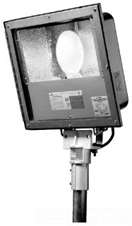 CROUSE-HINDS SSFMVMY400/MT 76 STAINLESS STEEL FLOOD LIGHT MH 400W