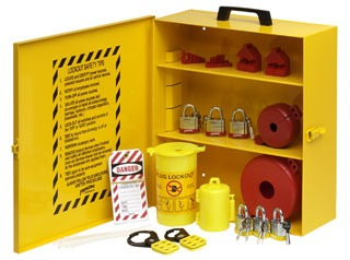 BRADY LC251M PRINZING LOCKOUT KIT EQUIPPED
