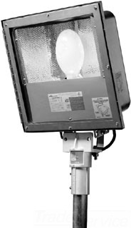 CROUSE-HINDS SSFMVMY400/TT 76 STAINLESS STEEL FLOOD LIGHT MH 400W