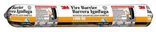 3M 1000NS FIRE BARRIER WATER TIGHT SEALANT, SAUSAGE 20 FL. OZ