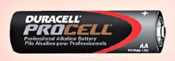 BATTERY AA PROCELL