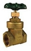 4 IMP 200# IPS BRS GATE VALVE **NOT FOR POTABLE WATER USE**