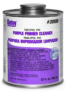 OATEY 30806 1QT PURPLE PRIMER