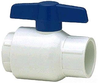 2621-015G 1-1/2 PVC GRAY TT BALL VALVE UTILITY EPDM - FIPxFIP 150psi@73f