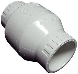 S1520-20F 2 PVC SCH40 TXT UTILITY SWING CHECK VALVE