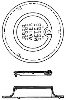L-2242KO 20 METER RING & LID