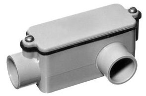 1/2 Inch PVC Type LL Conduit Body