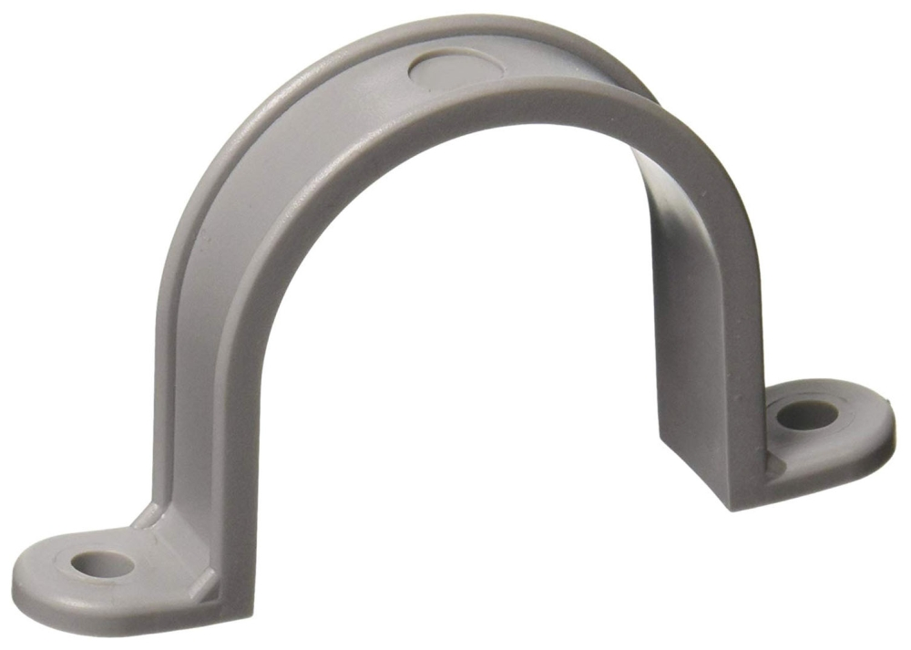 3/4 Inch 2-Hole PVC Conduit Clamp