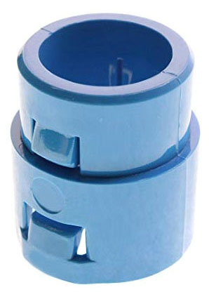 1/2 Inch Blue ENT PVC Snap in Adapter