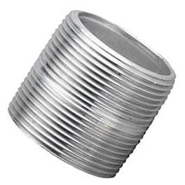 2-1/2 Inch X Close Aluminum Nipple