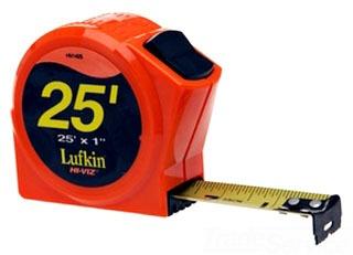 LUFKIN HI-VIZ POWER RETURN TAPE,1 IN W