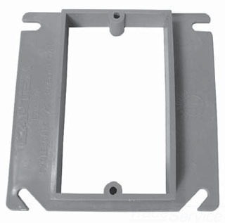 Non-Metallic Electrical Cover and Riser