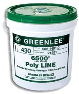 GRE 37959 ROPE-POLYLLINE 2200'X500LBS (37959)