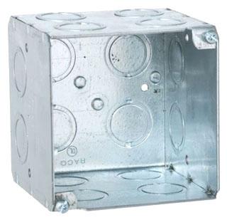 RACO 256 4INSQX3.5IN D BOX