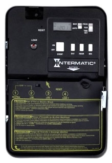EH10 NEMA 1 - 120 V (50/60 HZ.) SPST W/ EXTERNAL LOAD INDICATOR AND LOAD OVERRIDE
