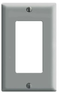 LVTN 80401-GY PLATE,DECORA,1DEVICE GRAY