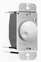 90621IV ROTARY DIMMER FLUSH 600W RFI IVORY