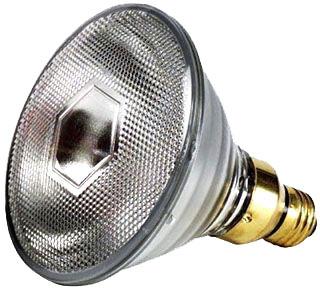 (23651-3) P-90PAR38/HAL/FL28/LL 90W 130V PAR38 MEDIUM SCREW BASE 28-DEGREE BEAM SPREAD HALOGEN LAMP