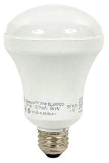 ~(12273) GE-EL23/R25/WW 23W 120V 3000K MEDIUM SCREW BASE GENURA FLUORESCENT LAMP