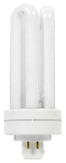 ~GE-F42TBX/830/A/ECO (97634) 42W 3000K 4-PIN TRIPLE TUBE GENERAL ELECTRIC COMPACT FLUORESCENT LAMP F42TBX/830/A/4P