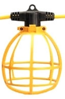 COLM 071458802 14/2 100'SJTW C-O-L TEMPORARY LIGHT STRING W/PLUG 150W MAX A23 LAMP OR LARGER ONLY