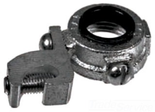 TOP 339M 3-1/2 MALLEABLE GROUND BUSHING INS #14-1/0AWG
