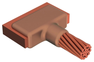 cdy LJCEG2G CDY MOLDCABLE TO BUS/LUGHORZ TEE CABLE TAP
