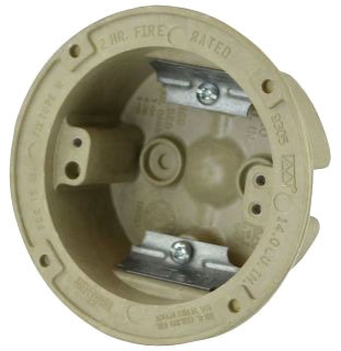ALLIED 9305 3-1/2 ROUND OUTLET BOX