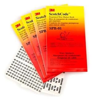 3M SPB03 1-45 NUMBER BOOK 1-45